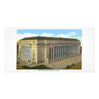 Federal Building, Denver, Colorado Custom Photo Card