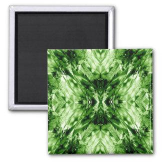 Feeling Green... Square Magnet