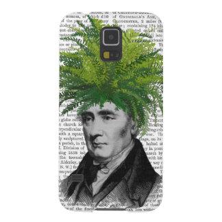 Fern Head Plant Head Galaxy S5 Cases