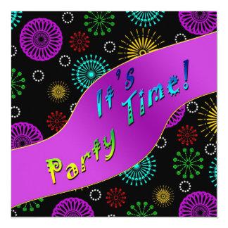 FESTIVE INVITATION - PARTY TIME