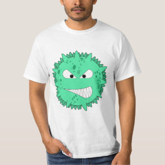 Fierce green virus tee shirts