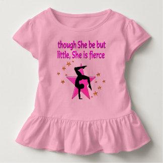 FIERCE LITTLE GYMNAST GIRL TSHIRT