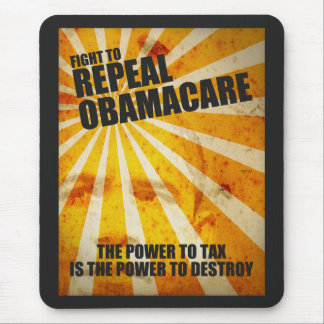 Fight To Repeal Obamacare Mouse Pad