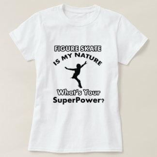 figure skate design t-shirts
