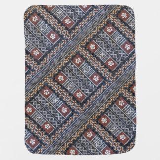 Fiji Tapa Cloth Baby Blanket