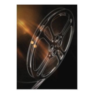 Film Highlights Rolling 13 Cm X 18 Cm Invitation Card