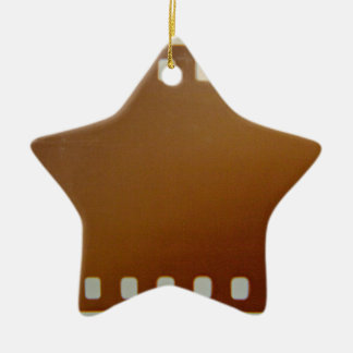Film roll color ceramic star decoration