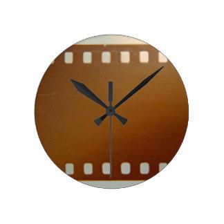 Film roll color clock