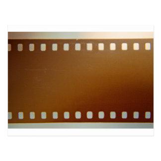 Film roll color postcard