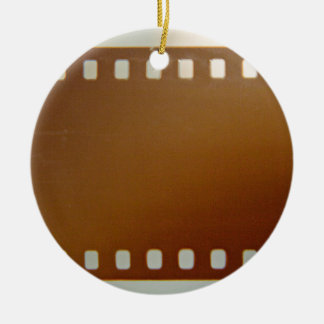 Film roll color round ceramic decoration