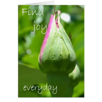 Find Joy Everyday Note Card