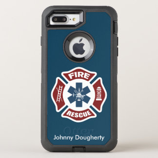 Fire and Rescue OtterBox Defender iPhone 7 Plus Case