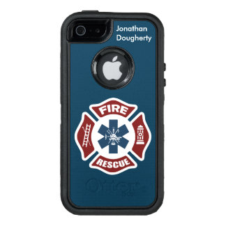 Fire and Rescue OtterBox iPhone 5/5s/SE Case