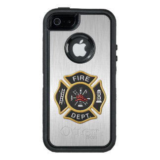 Fire Department Badge Deluxe OtterBox iPhone 5/5s/SE Case
