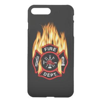 Fire Department Flaming Badge iPhone 7 Plus Case