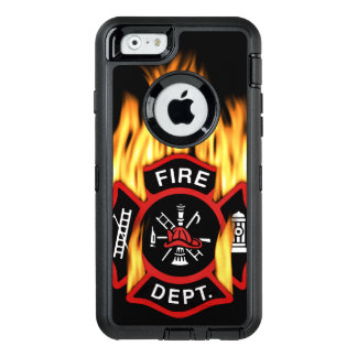 Fire Department Flaming Badge OtterBox iPhone 6/6s Case