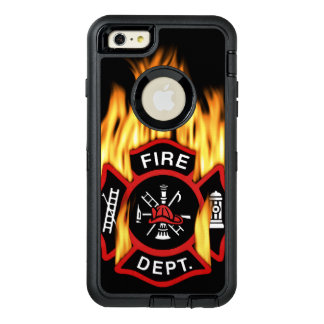 Fire Department Flaming Badge OtterBox iPhone 6/6s Plus Case