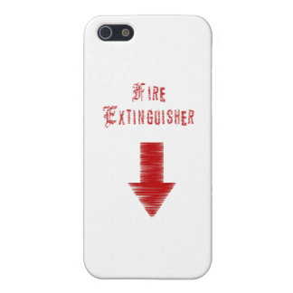 Fire Extinguisher Cover For iPhone 5/5S