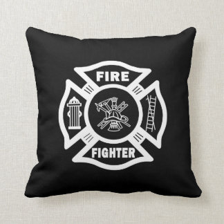 Fire Fighter Maltese Cushions