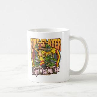 Fire Slayer Firefighter Basic White Mug
