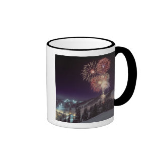 Fireworks at Big Mountain Resort in Whitefish, Ringer Mug