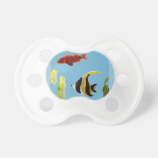 Fish Art swimming in the sea Baby Pacifier