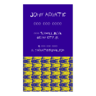 Fish Pack Of Standard Business Cards