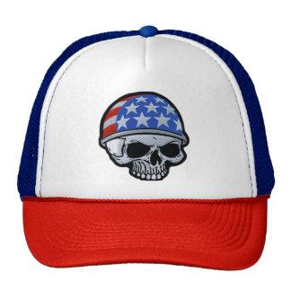 Flag Helmet Skull Cap