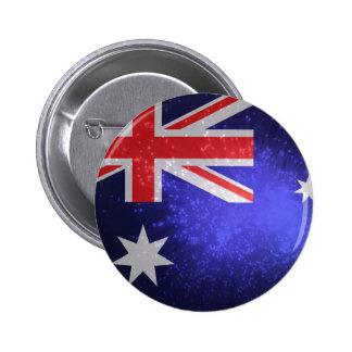 Flag of Australia 6 Cm Round Badge