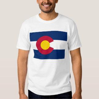 flag of Colorado T Shirt