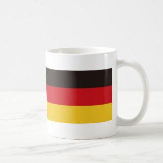 Flag of Germany Basic White Mug