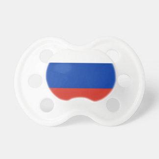 Flag of Russia - Флаг России - Триколор Trikolor Baby Pacifiers