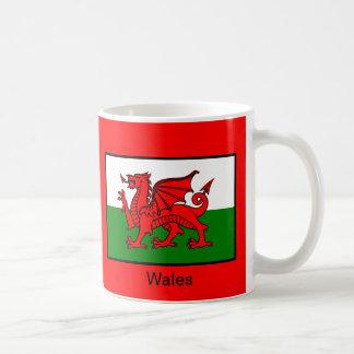 Flag of Wales Basic White Mug