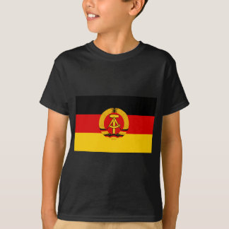 Flagge der DDR - Flag of the GDR (East Germany) Tee Shirt