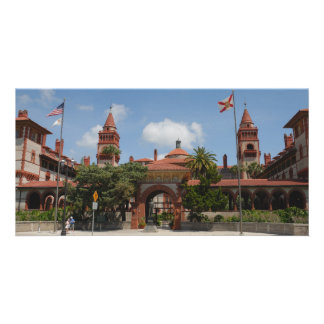 Flagler College at St. Augustine, Fl. photo card