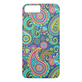 flashy colored abstract texture iPhone 7 plus case