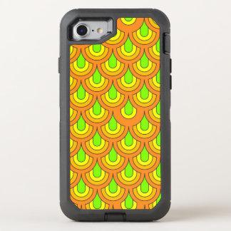 flashy retro pattern OtterBox defender iPhone 7 case