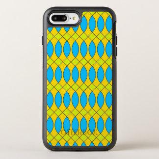 flashy retro pattern OtterBox symmetry iPhone 7 plus case