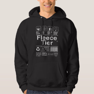 Fleece Tier Hooded Pullovers