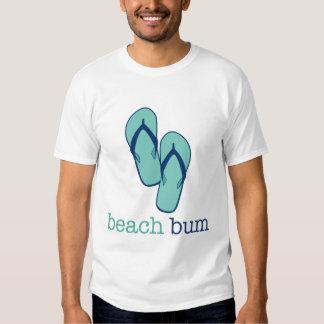 Flip Flops Beach Bum Tee Shirt