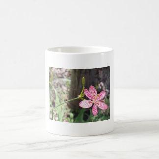 flora basic white mug