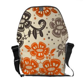 Floral Pattern - Bag #2 Messenger Bag