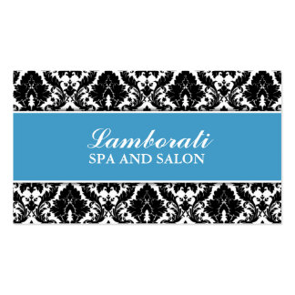 Floral Pattern Damask Elegant Modern Stylist Salon Pack Of Standard Business Cards