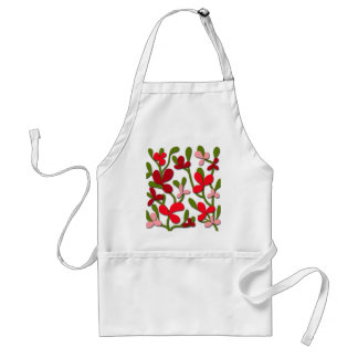 Floral tree standard apron