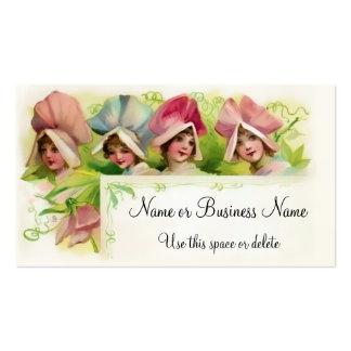 Flower Petal Girls 1 Pack Of Standard Business Cards