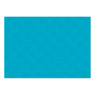 Flower Petals Deep Turquoise Pack Of Chubby Business Cards