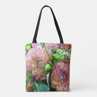 Flowers and Fences Classic Tote Bag lk