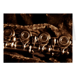 Flute Photo Greeting Card