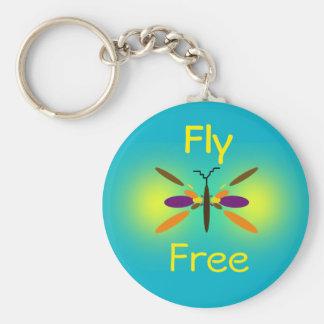 Fly Free Keychain