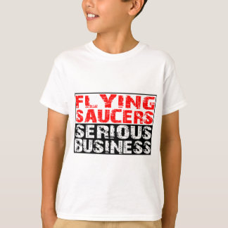 Flying Saucers - Serious Business Tee Shirt